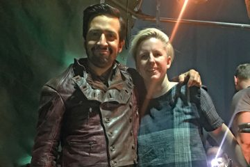 Verity with Lin-Manuel Miranda