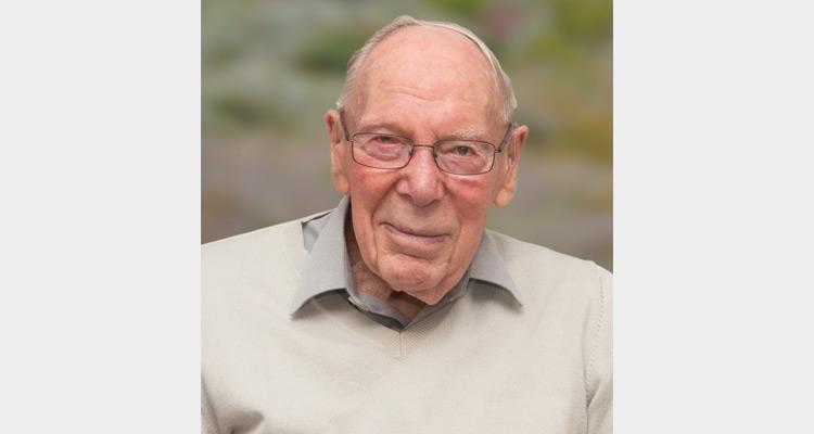 Jos Penrose on his 100th birthday