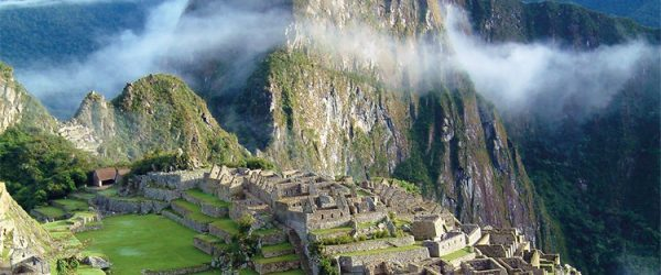 Machu Picchu in the Sunrise