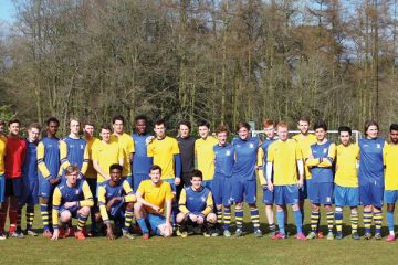 Old Stoic v Stoic Football Match, Sunday 20 March 2016