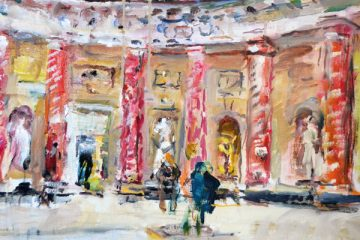 Marble Hall by Anthony Eyton RA