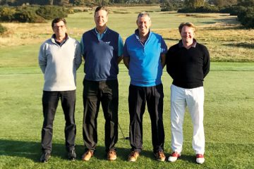 Dick Watson Trophy Team: Nigel Wright (Chatham 78) William Hill, Jeremy Scowsill and Ian Bendell (Walpole 87)