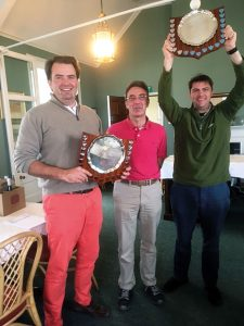 Autumn Meeting Lucas Langley Winners: Charles Consett and Angus Campbell