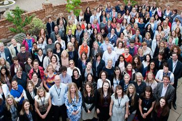 Therapists gathering for the OT Annual Conference