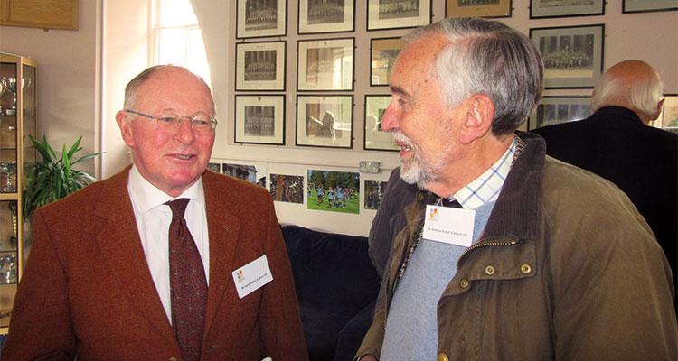 David Ridley with Andrew Rudolf