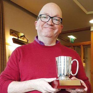 Northern Meeting winner at Formby: Mark Jenkyn Jones